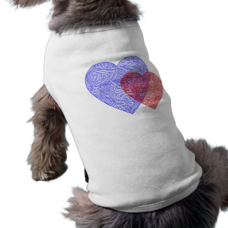 USA Hearts Dog Shirt