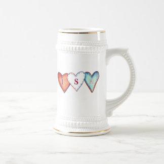 USA Hearts mug