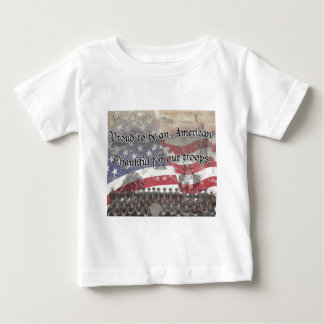 USA Heros Thankful for our troops! - vintage look Tshirts