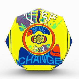USA Hillary Beautiful Change Pattern Art design Award