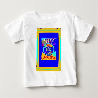 USA Hillary Change Pattern Art design Baby T-Shirt