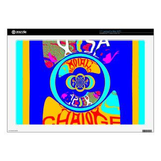 USA Hillary Change Pattern Art design Skin For Laptop