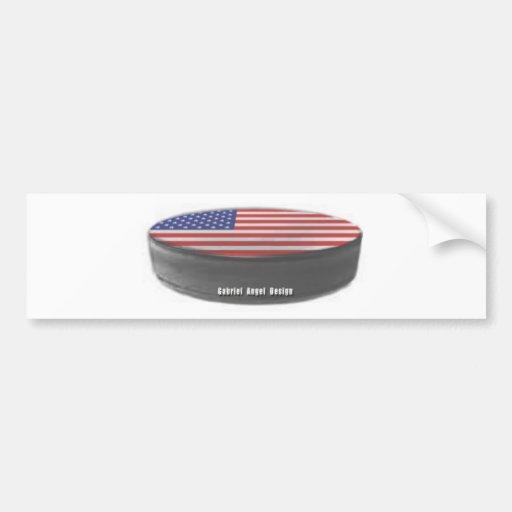 USA Hockey Car Bumper Sticker