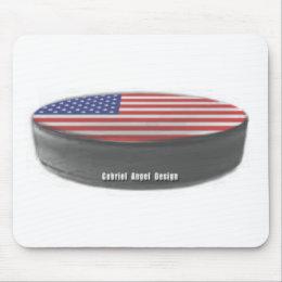 USA Hockey Mouse Pad