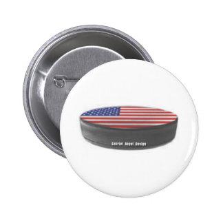 USA Hockey Pinback Button