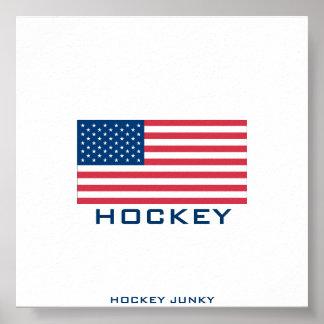 USA HOCKEY POSTER