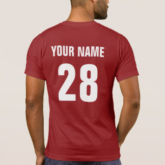 USA Hockey T-Shirt with Name & Number print