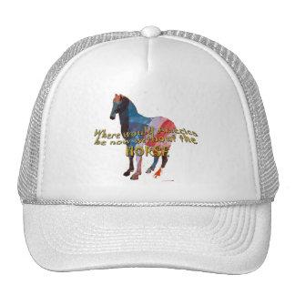 USA HORSE TRUCKER HAT