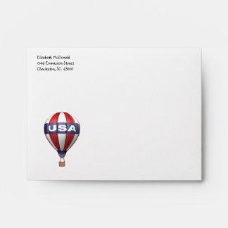 USA Hot Air Balloon A2 Envelope