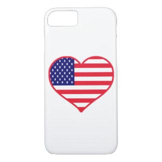 USA I Love America iPhone 8/7 Case