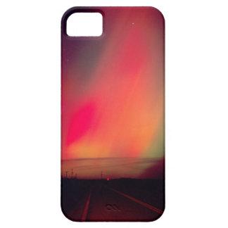 USA, Idaho. Aurora borealis, northern lights at iPhone 5 Cover