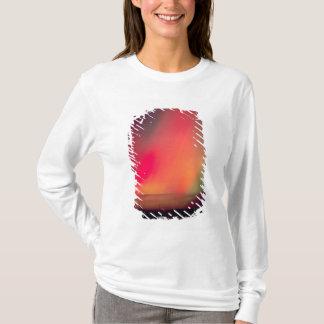 USA, Idaho. Aurora borealis, northern lights at T-Shirt