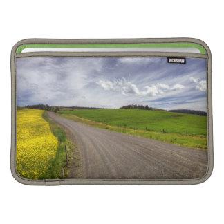 USA, Idaho, Idaho County, Canola Field MacBook Air Sleeve
