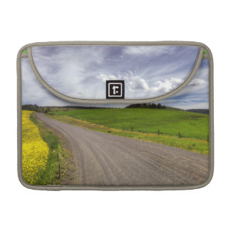 USA, Idaho, Idaho County, Canola Field MacBook Pro Sleeve