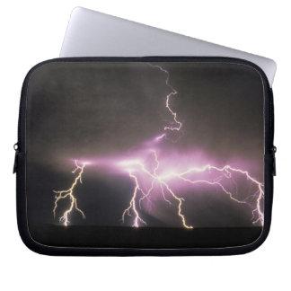 USA, Idaho. Lightning. Laptop Sleeves