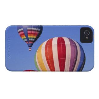 USA, Idaho, Teton Valley. Colorful hot-air iPhone 4 Cases