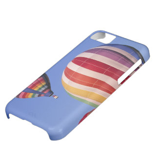 USA, Idaho, Teton Valley. Colorful hot-air Case For iPhone 5C