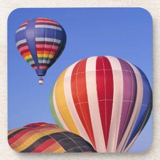 USA, Idaho, Teton Valley. Colorful hot-air Coaster