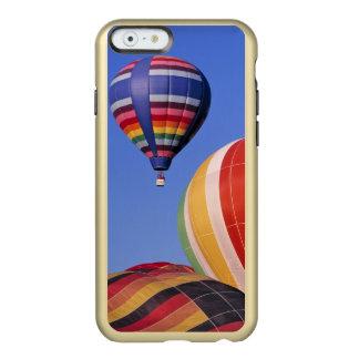 USA, Idaho, Teton Valley. Colorful hot-air Incipio Feather Shine iPhone 6 Case