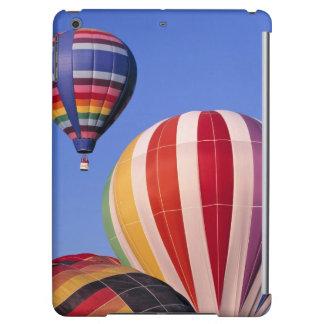 USA, Idaho, Teton Valley. Colorful hot-air iPad Air Cases