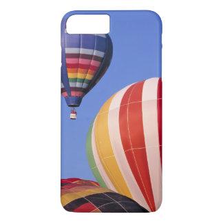 USA, Idaho, Teton Valley. Colorful hot-air iPhone 8 Plus/7 Plus Case