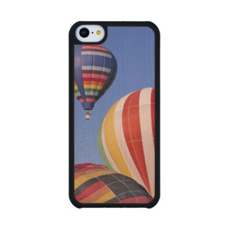 USA, Idaho, Teton Valley. Colorful hot-air Carved® Maple iPhone 5C Slim Case