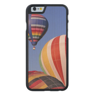 USA, Idaho, Teton Valley. Colorful hot-air Carved® Maple iPhone 6 Case
