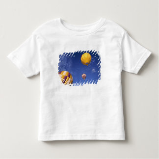 USA, Idaho, Teton Valley. Hot-air balloons Toddler T-shirt