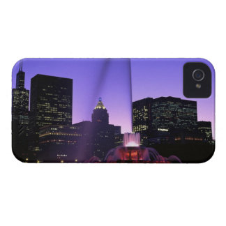 USA, IL, Chicago. Buckingham Fountain in Grant iPhone 4 Case-Mate Cases