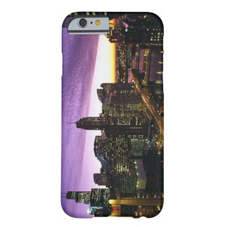 USA, IL, Chicago. Chicago skyline and river iPhone 6 Case