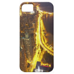 USA, Illinois, aerial view of Chicago at dusk iPhone 5 Cover