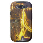 USA, Illinois, aerial view of Chicago at dusk Samsung Galaxy SIII Cases