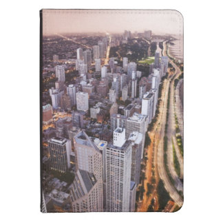 USA, Illinois, Chicago, Aerial view of Lake Kindle 4 Cover