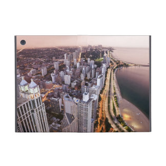 USA, Illinois, Chicago, Aerial view of Lake Cover For iPad Mini
