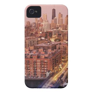 USA, Illinois, Chicago, Chicago River 2 iPhone 4 Case-Mate Case