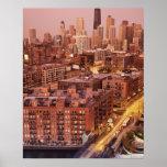 USA, Illinois, Chicago, Chicago River 2 Poster