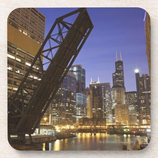 USA, Illinois, Chicago, Chicago River Coaster