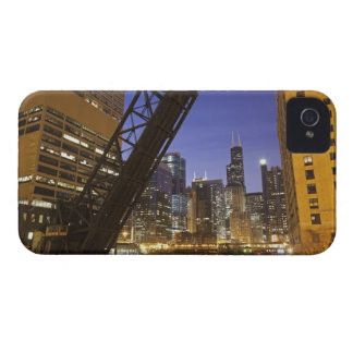 USA, Illinois, Chicago, Chicago River iPhone 4 Cover