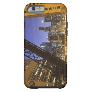 USA, Illinois, Chicago, Chicago River Tough iPhone 6 Case
