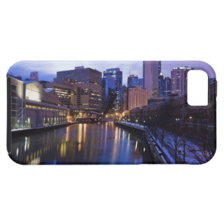 USA, Illinois, Chicago, City reflected in iPhone SE/5/5s Case