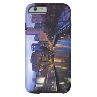 USA, Illinois, Chicago, City reflected in Tough iPhone 6 Case
