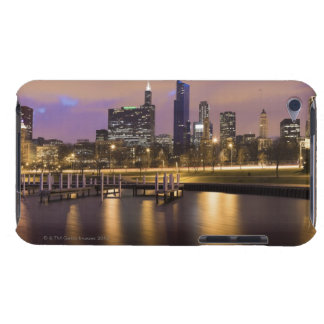 USA Illinois Chicago City skyline and marina Case-Mate iPod Touch Case