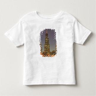 USA, Illinois, Chicago: City Skyline / Evening Toddler T-shirt