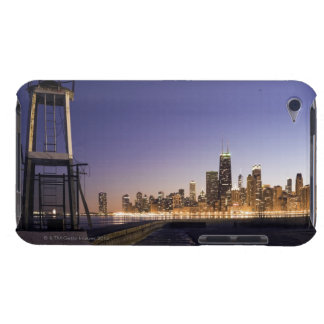 USA, Illinois, Chicago, City skyline from Lake 2 Barely There iPod Case