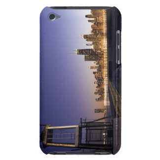 USA Illinois Chicago City skyline from Lake 2 Barely There iPod Cover