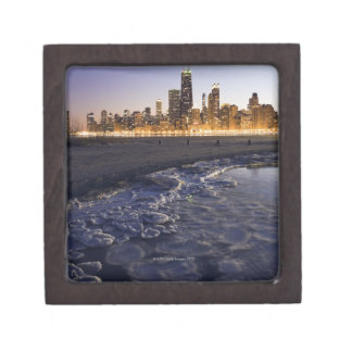 USA, Illinois, Chicago, City skyline from Lake Gift Box