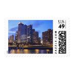 USA, Illinois, Chicago, City skyline of Randolph Postage