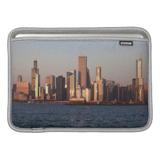 USA, Illinois, Chicago, City skyline over Lake 2 MacBook Air Sleeve