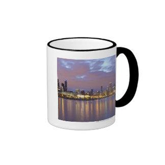 USA, Illinois, Chicago, City skyline over Lake 5 Mug