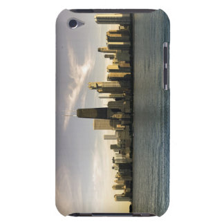 USA Illinois Chicago City skyline over Lake 7 Barely There iPod Covers